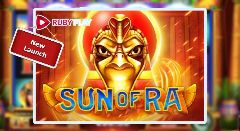 เกมสล็อต Sun of Ra จาก Ruby Play