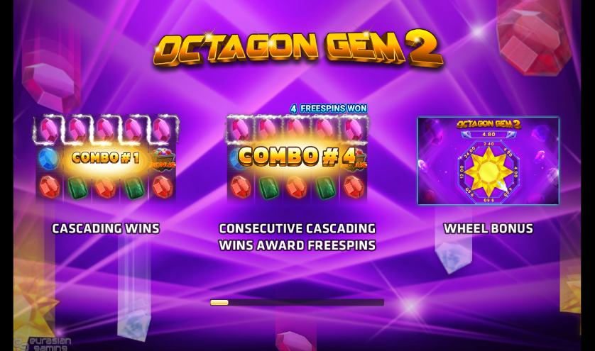 Octagon Gem 2 Slot