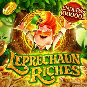 Leprechaun Riches banner
