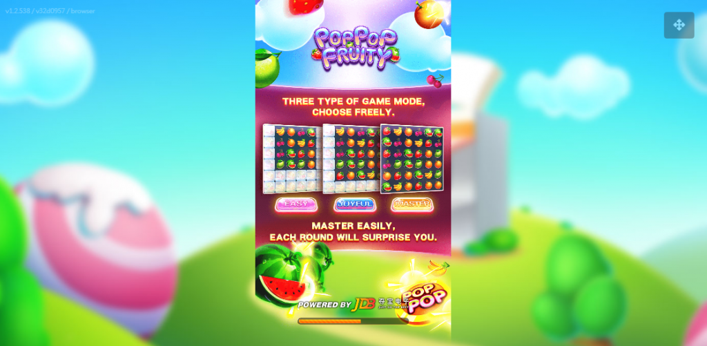 Pop Pop Fruity Slot