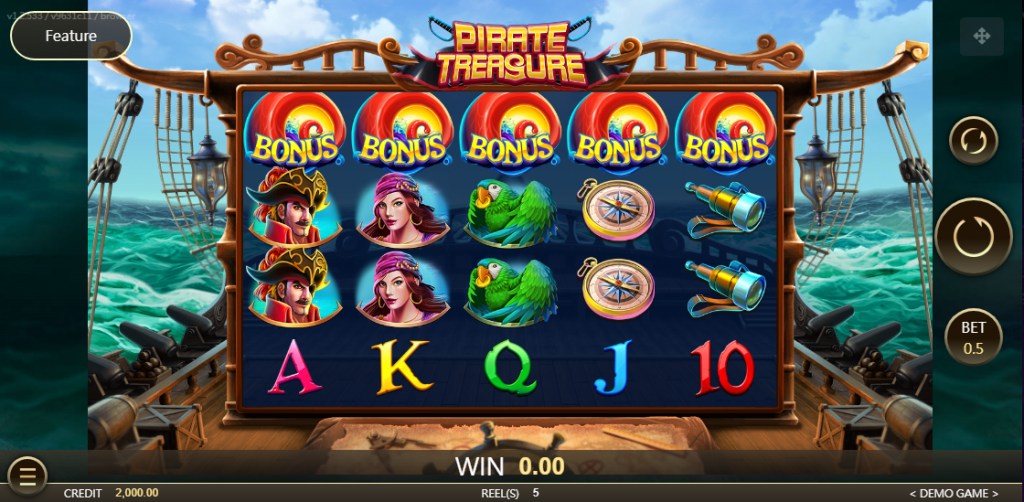 Pirate Treasure Slot