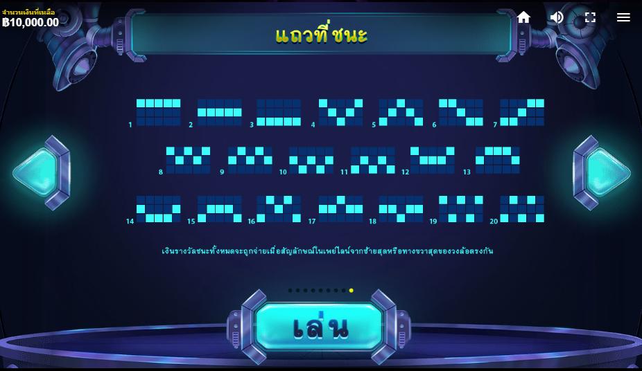 Reactor Slot เพย์ไลน์
